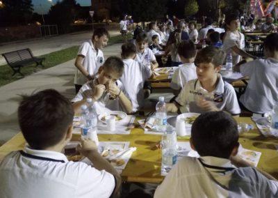 A cena tutti insieme