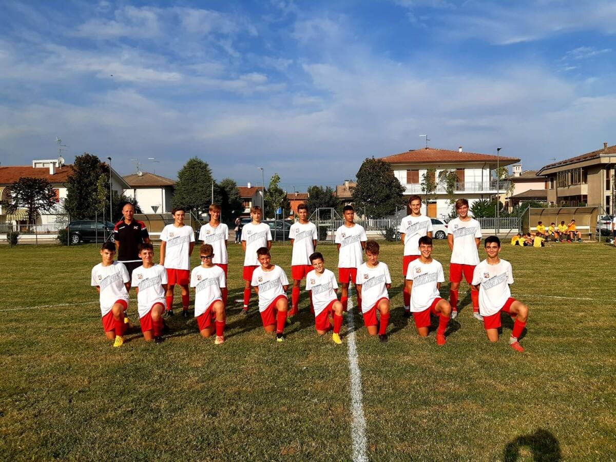 La formazione Under15 in trasferta a Cologna Veneta lo scorso week end